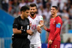 لطف VAR به رونالدو برابر ایران!