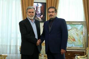 شمخانی: ایران تا پیروزی کامل جریان مقاومت در کنار آنها خواهد بود