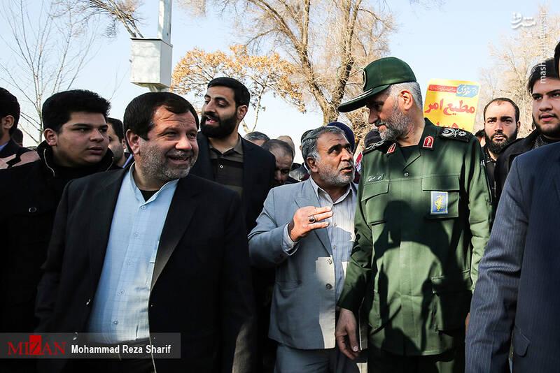 حماسه 9 دی در اصفهان