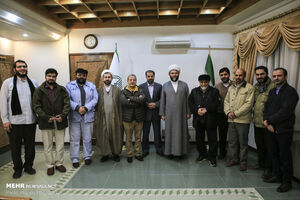 عکس/ دیدار رئیس سازمان تبلیغات اسلامی با هنرمندان