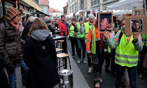 تشدید تدابیر امنیتی شب سال نو در فرانسه/ ۱۴۷ هزار نیروی امنیتی در سراسر فرانسه مستقر شدند