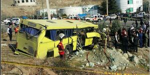 حادثه اتوبوس دانشگاه آزاد عمدی بود؟