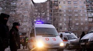 فیلم/ نجات نوزادی از زیر آوار ساختمانی در روسیه!