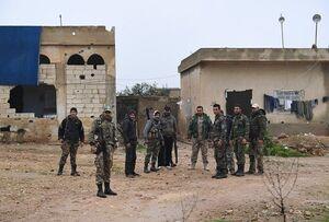 نیروهای ارتش سوریه در منبج مستقر شدند +عکس