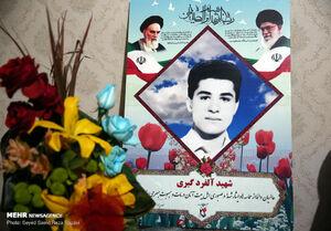 عکس/ دیدار روحانی با خانواده شهید آلفرد گبری