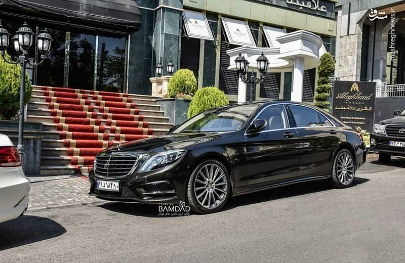 Mercedes Benz S500