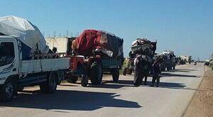 1300 آواره سوری به کشور خود بازگشتند