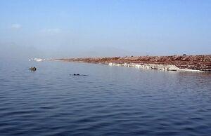 تراز آب دریاچه ارومیه افزایش یافت
