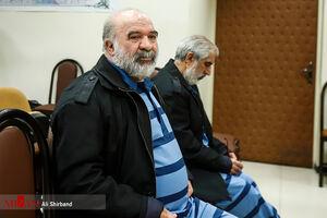 عکس/ دادگاه محاکمه دو نفر از اخلالگران بازار ارز
