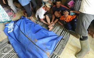 عکس/ رانش زمین در اندونزی