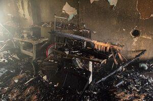آتشسوزی یک مدرسه در بروجرد