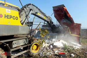 عکس/ تخریب ویلاهای غیرمجاز