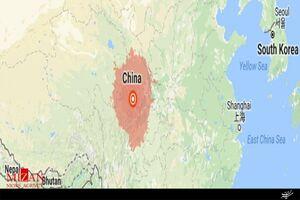 فیلم/ لحظه وقوع زلزله در چین