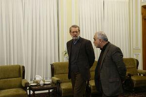 عکس/ دیدار سه وزیر با رئیس مجلس