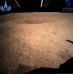 فرود موفقیت آمیز یک کاوشگر بر سمت پنهان ماه