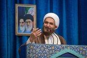 فیلم/ تقدیر خطیب نماز جمعه از کشتیگیران تیم ملی