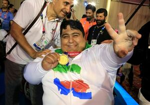 سیامند رحمان، نامزد کسب عنوان بهترین وزنهبردار معلول جهان در سال ۲۰۱۸