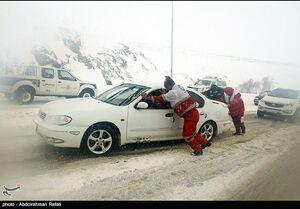 جزئیات امدادرسانی به ۱۷ استان گرفتار برف و کولاک
