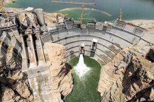 سهم نیروگاههای برقآبی در تامین برق کشور