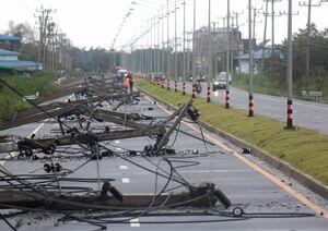 عکس/ جولان طوفان در تایلند