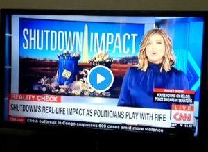 گزارش سیانان از فاجعه تعطیلی دولت در آمریکا +فیلم