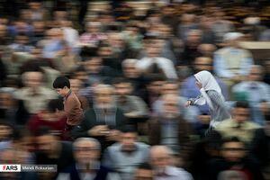 نشاط در نماز جمعه تهران +عکس