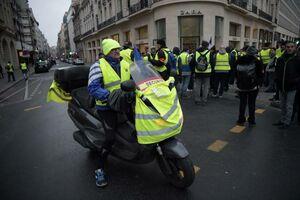 عکس/ هشتمین هفته اعتراض جلیقه زردها