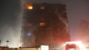 عکس/ آتش سوزی مرگبار در کابل