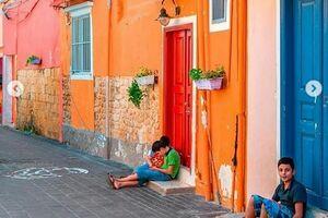 شهری خوشرنگ و قدیمی در لبنان +عکس