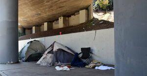 بیخانمانی در کالیفرنیا +عکس