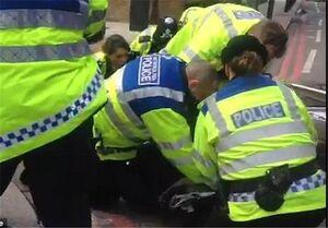 دستگیری دختر ۱۳ ساله در تظاهرات جلیقهزردهای لندن