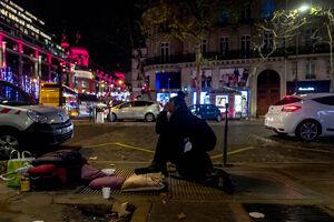 ۳ هزار بیخانمان در خیابانهای پاریس +عکس