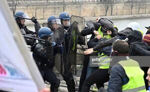 رویترز: ناآرامیهای فرانسه به نقطه «خطر» رسیده است