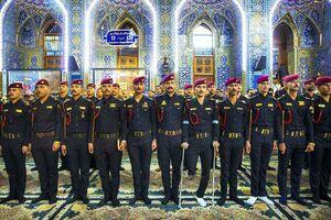 عکس/ نیروهای مبارزه با تروریسم در حرم امام حسین(ع)