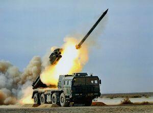 آزمایش موفق موشک بومی پاکستان با برد 100 کیلومتر