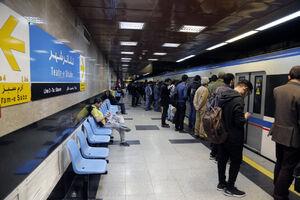 سرویس دهی در خط ۳ مترو به حالت عادی بازگشت