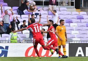 اردن با شکست استرالیا اولین شگفتی جام را رقم زد/ ناکامی مدافع عنوان قهرمانی در گام نخست