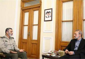 دیدار سرلشکر موسوی با لاریجانی درباره بودجه ارتش