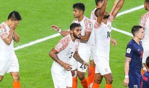 تایلندیها مقهور نمایندگان هفتادو دو ملت!/ برد پرگل هند در جام ملتها