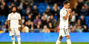 تداوم ناکامیهای مادریدیها در سال نو / شکست رئال ۱۰ نفره مقابل سوسیداد