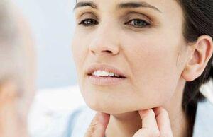بیماری نمایه گلو درد