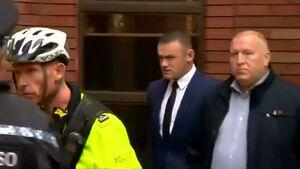 بازداشت وین رونی توسط پلیس آمریکا