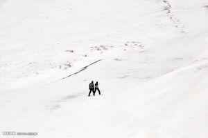 فیلم/ اسکی در خیابانهای تبریز