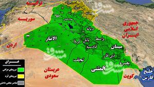 حملات سنگین هستههای خاموش داعش در دروازه جنوب غرب شهر کرکوک/ شهادت 2 تن از نیروهای بسیج مردمی درحومه منطقه راهبردی «الحویجه» + نقشه میدانی