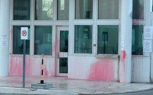 حمله به سفارت آمریکا در آتن +عکس