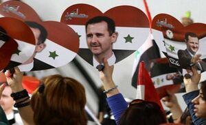 دیلیتلگراف: دنیا به استقبال اسد آمده است