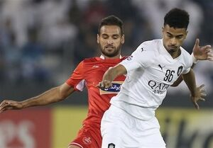 ستاره رقیب پرسپولیس مرد سال فوتبال قطر شد