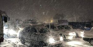برف و کولاک 11 استان کشور را درنوردید