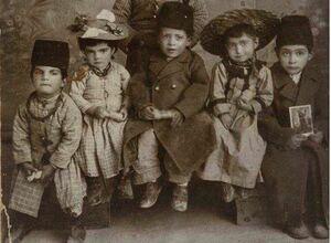 عکس/ کودکان قجری
