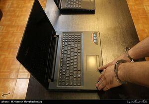 عکس/ بازداشت سارق لپتاپهای تهران